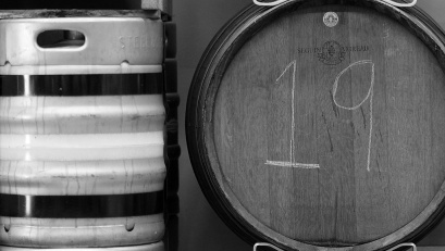 Some of the beer ages in steel casks, while others are finished in oak barrels, hence the brewery's name.