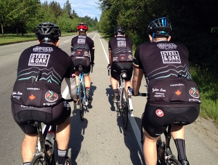 Saturday's ride was also a bit of a coming out for the FRF, as we rolled into the turf of other groups that traditionally do their big group rides on Saturdays