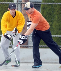 Mario Bartel road hockey photojournalist storyteller communicator