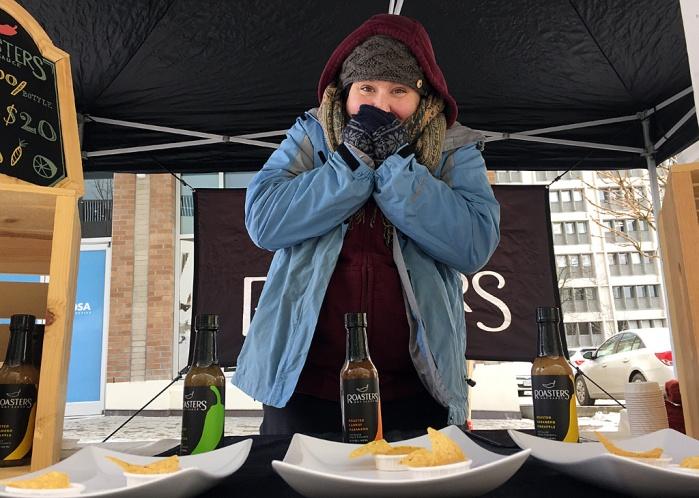 Mario Bartel storyteller photojournalist blogger farmer's market winter