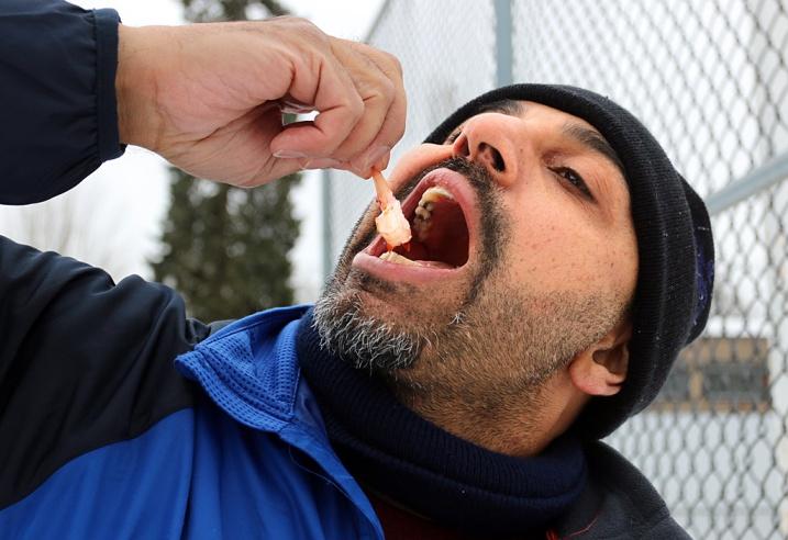 Mario Bartel storyteller photojournalist road hockey