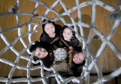 Netball you say? All my career I've wanted to do a netball story just so I could do this photo, cliché as it may be.